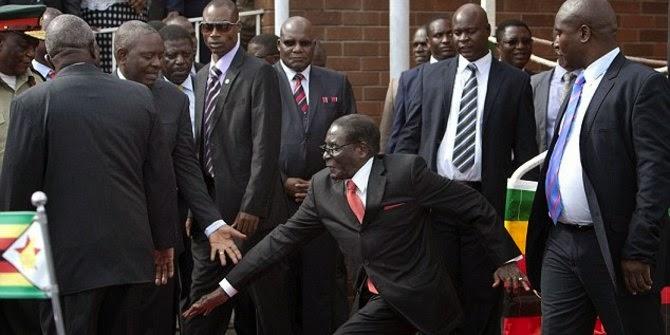 Kisah Memalukan Presiden Zimbabwe Robert Mugabe