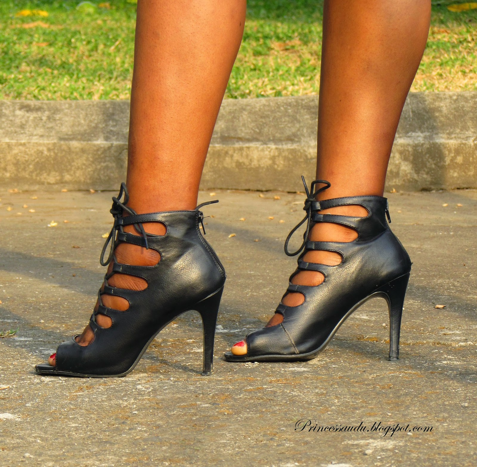 Lace-up booties, heels, sandals, Zalora Thaiand