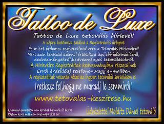 Tetoválás Hírlevél