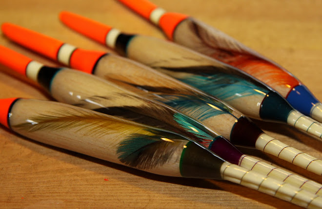 Balsa Quill Avons with multiple feathers