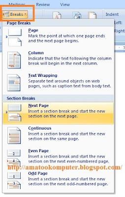 cara membuat nomor halaman di microsoft word 3