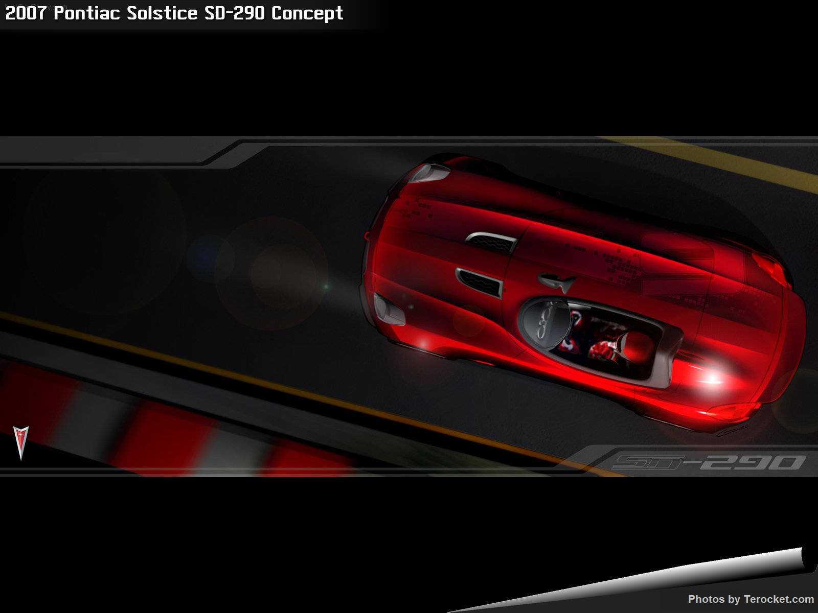 Hình ảnh xe ô tô Pontiac Solstice SD-290 Concept 2007 & nội ngoại thất
