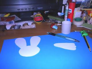 Macchie d 39 inchiostro esperimenti di kat coniglietto - Foglio colore coniglietto pasquale ...