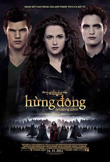 Phim Hừng Đông 2 - Breaking Dawn 2 2012 [Vietsub] Online
