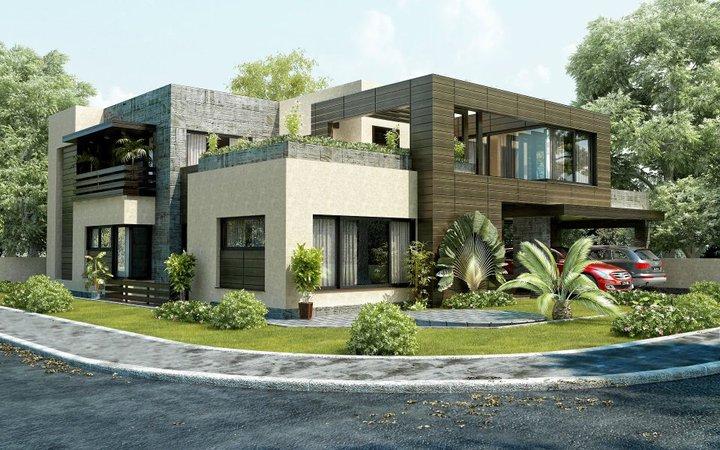 3D Front Elevation.com: D.H.A ,Defence Housing Authority , Lahore 3D ...