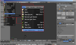 Blender 3D 2.5 or above -- User Preferences