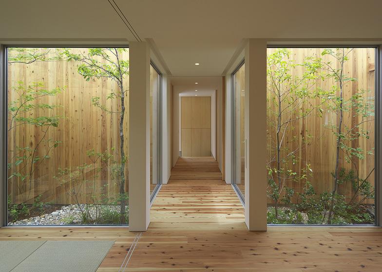 Arbol design casa giardino a nishimikuni osaka arc - Design giardino casa ...