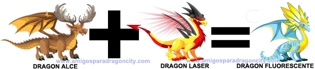 como sacar el dragon fluorescente en dragon city combinacion 1