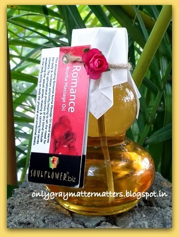 Soulflower Romance Aromatherapy Massage Oil Review