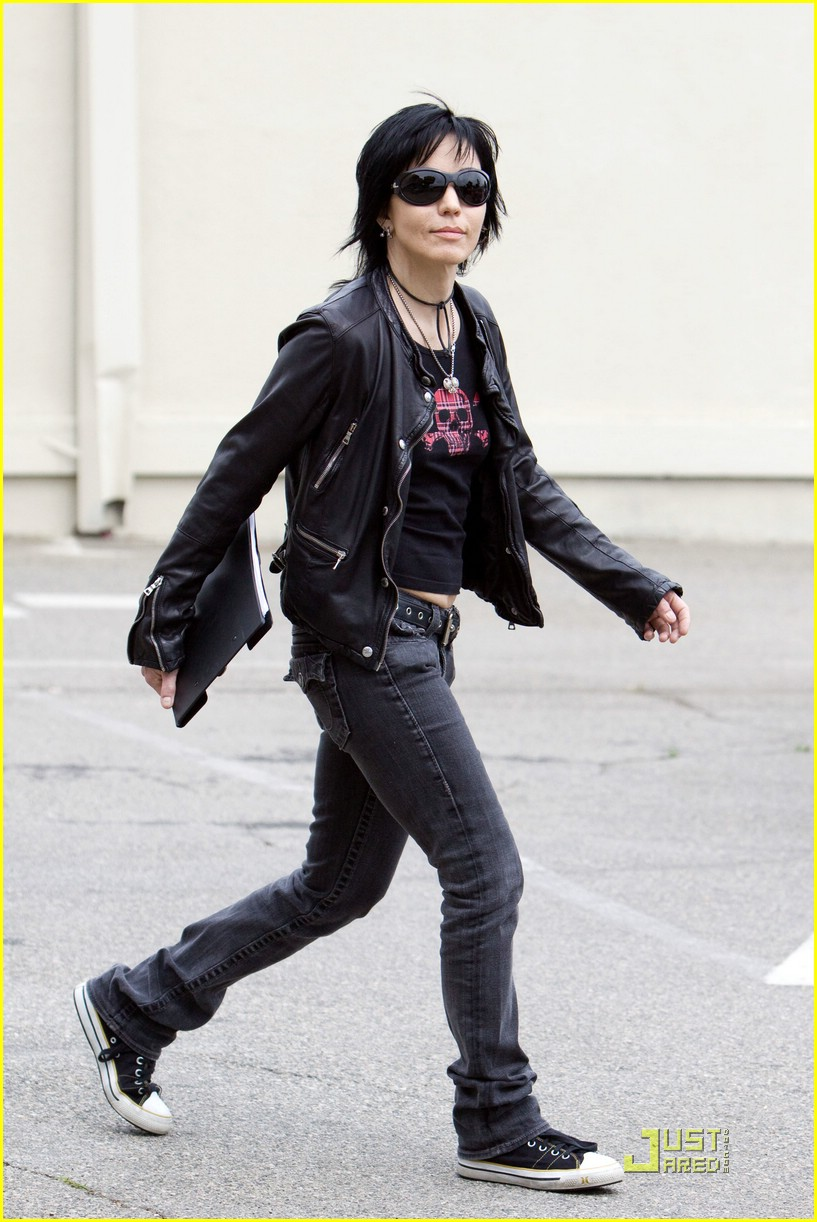Kristen Stewart Joan Jett Dress Fashion