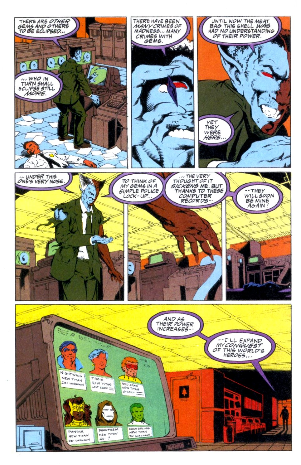 Deathstroke (1991) Annual 1 #1 - English 23