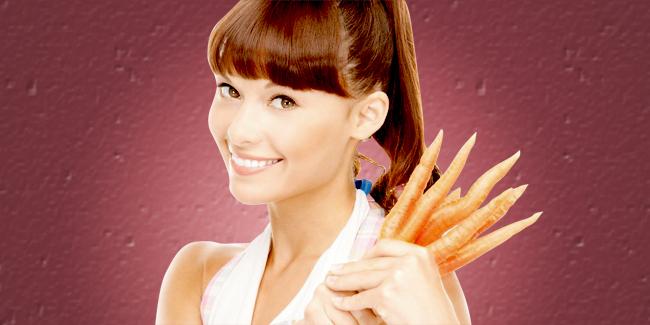 cara memutihkan dengan wortel