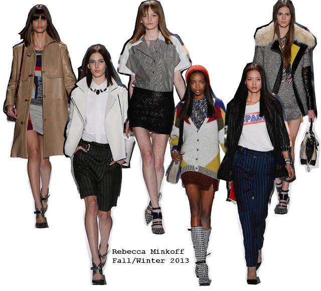 Rebecca Minkoff Fall/Winter 2013 NYC Collection