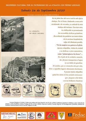Recorrido por el patrimonio de la Atalaya con Pedro Lezcano