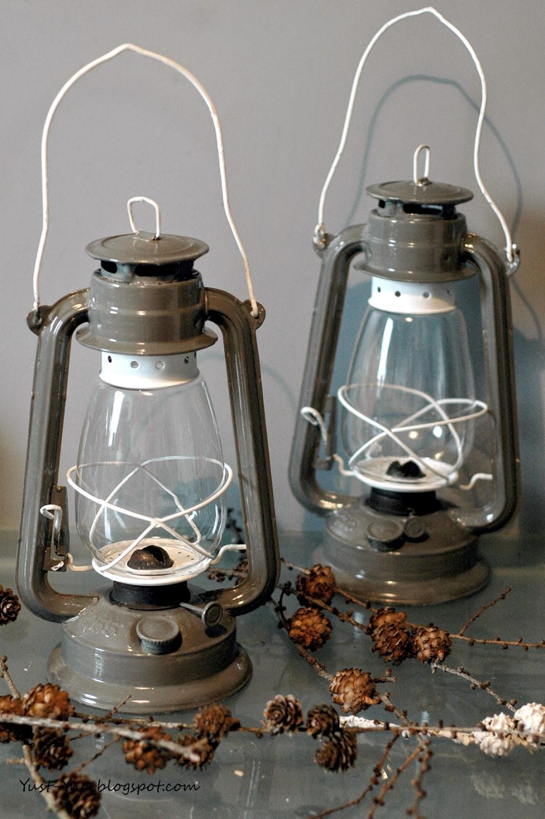 Pomysł na lampę naftową - DIY