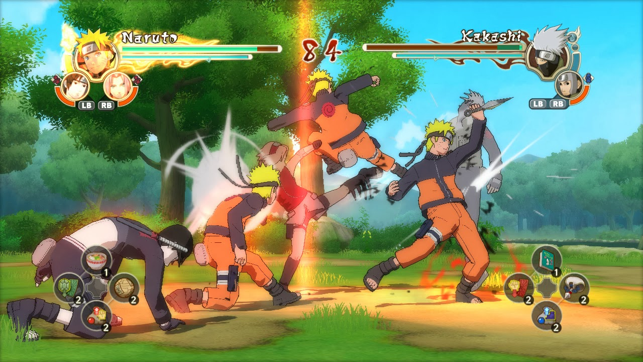 Fight with minato in the third installment of the ultimate ninja storm series