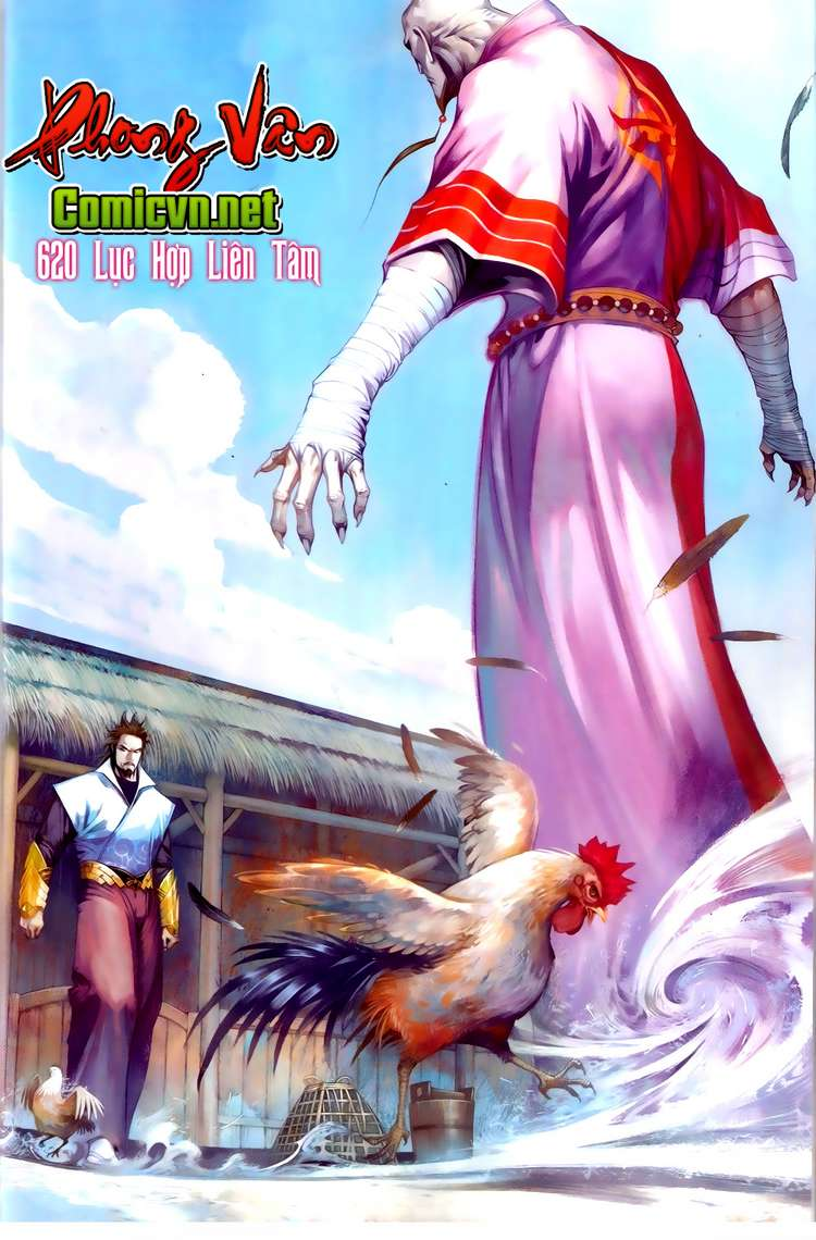 Phong Vân chap 620 Trang 1 - Mangak.info