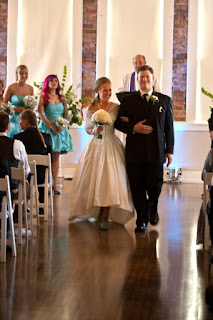 Ken and Nicole are married at the Hollywood Schoolhouse