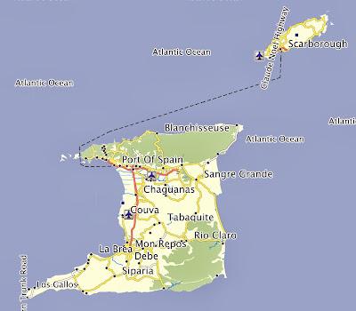 Garmin GPS Map Trinidad Tobago