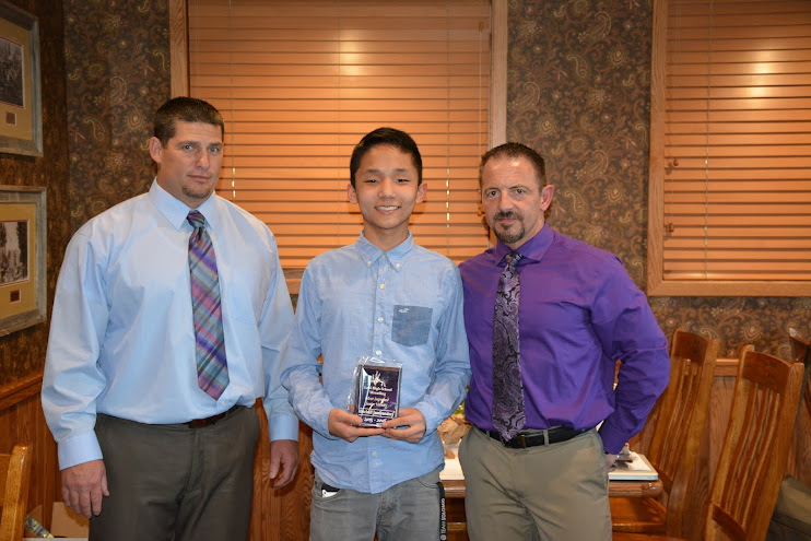 Most Improved JV - Mitchell Jamiyandori