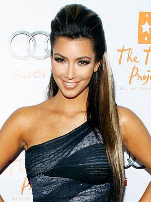 kim kardashian Hairstyles updos