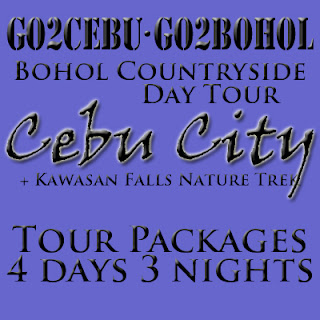 Cebu City + Kawasan Falls Nature Trek + Bohol Countryside Day Tour Itinerary 4 Days 3 Nights Package (Check-in at Shangri-La Mactan Resort & Spa)