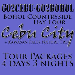 Cebu City + Kawasan Falls Nature Trek + Bohol Countryside Day Tour Itinerary 4 Days 3 Nights Package