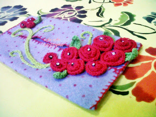 My Crochet: Flower Felt Tissue Pack