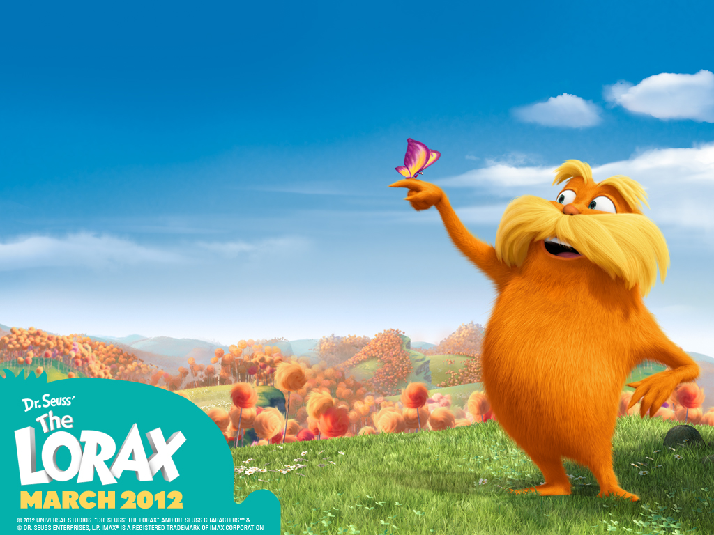 Lorax Coloring Pages