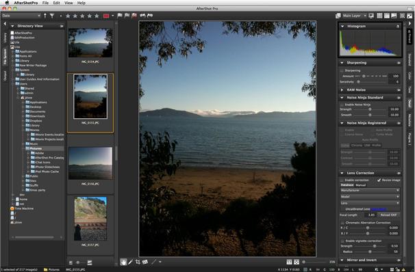 Corel's AfterShot Pro