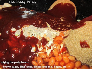 Slow Cooker Party Beans...best baked beans ever!  by The Shady Porch