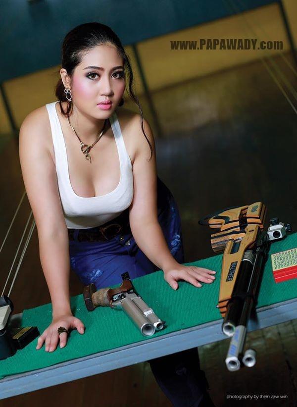Shwe Poe Eain - Fashion Magazine Photoshoot