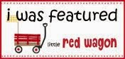 I was featured at Little Red Wagon!