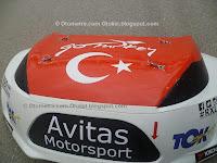 Toksport rallikross şampiyansında ülkemizi temsil etti.
