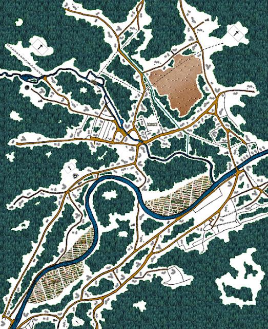 Badger Falls Map