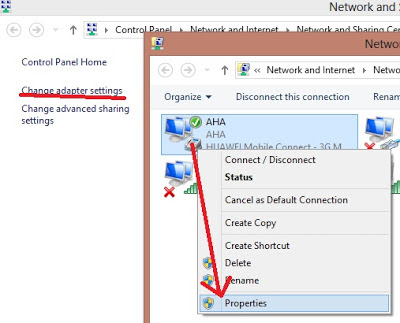 Cara Share Internet via Wi-Fi di Windows 8