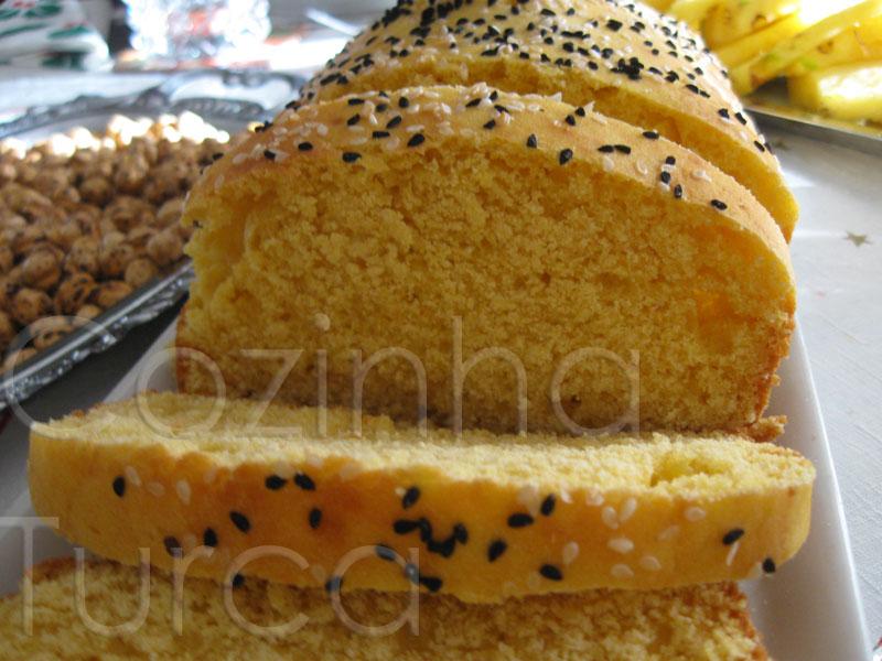 Pão de Milho (Mısır Ekmeği)