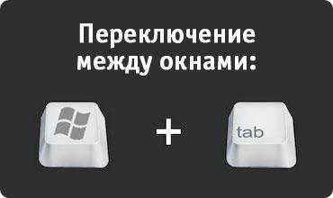 Горячие Клавиши в Windows: Переход между окнами