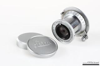 Leica M-39 Elmar 5cm f/3,5 red scale SNr: 1427467