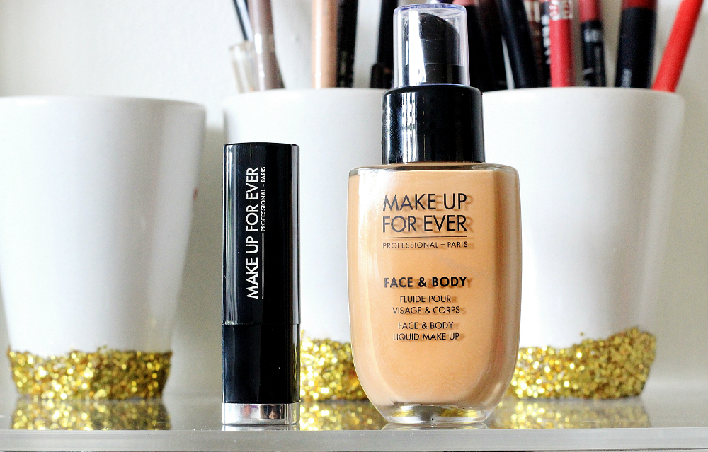 MAKE UP FOR EVER haul UK Debenhams Face and Body Foundation 32, Rouge Artist Natural N14
