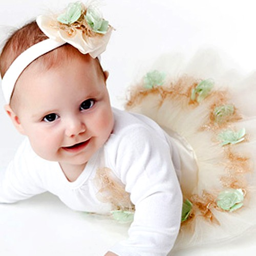 The only thing sweeter than a baby girl is cute baby girl clothes!