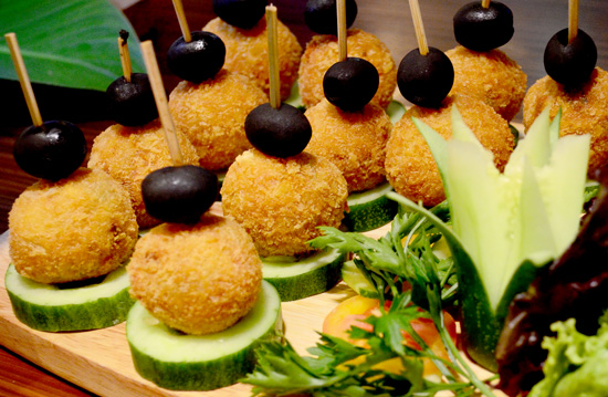 Suppli, Street foods of the world, Vikings Luxury Buffet Davao