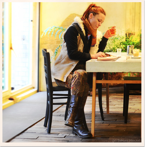 Psynopsis Fur Vest DIY Knit Scarf Vintage Kenzo Trousers Miu Miu Boots