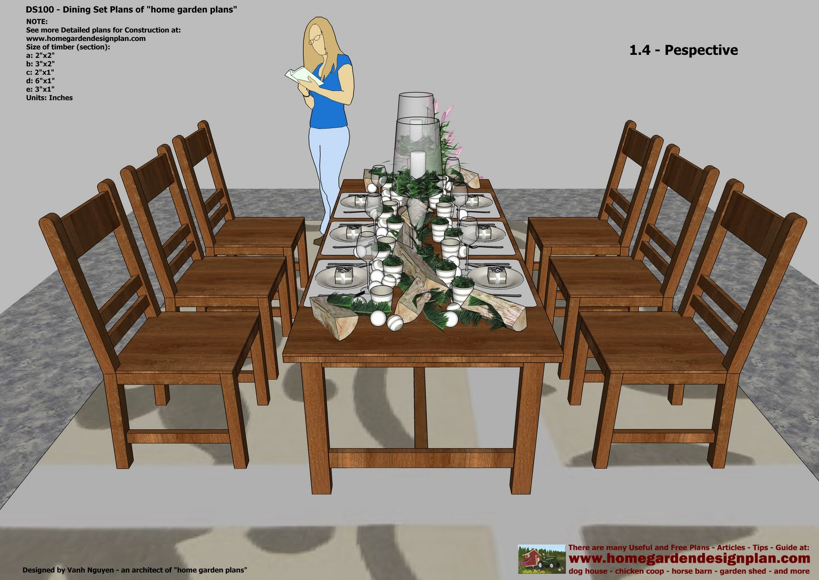 Chair Dining Table Plans