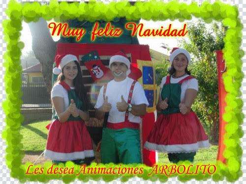 FELIZ NAVIDAD Y QUE SEA UN GRAN AÑO 2014!!!