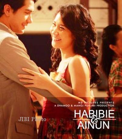 "Reza Rahardian ""B.J. Habibie"" Habibie & Ainun Film 2012"