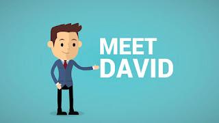 David's journey
