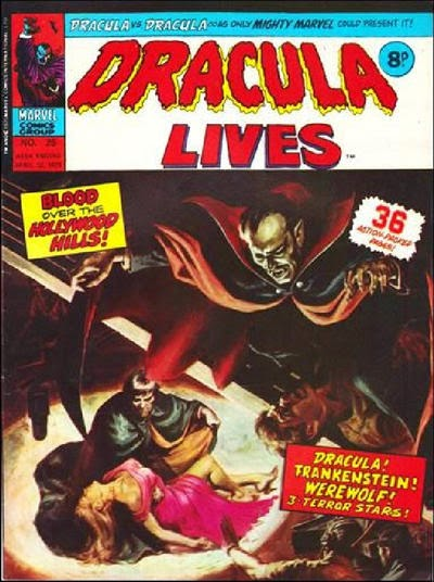 Marvel UK, Dracula Lives #25