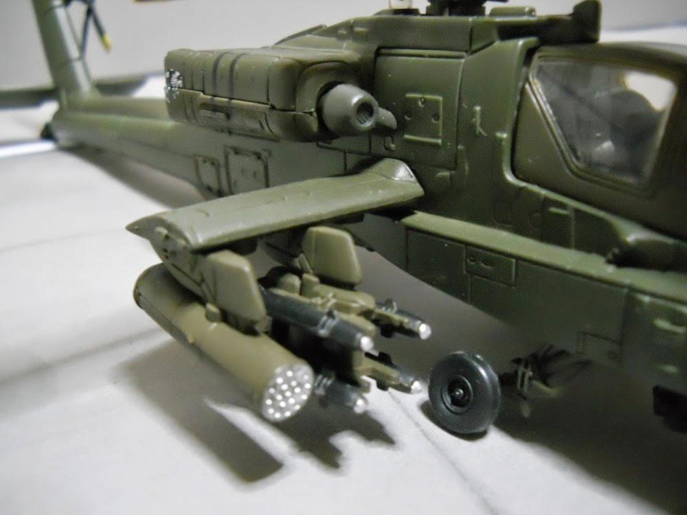 misiles maqueta ah-64-apache