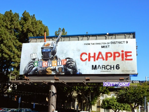 Chappie extension movie billboard